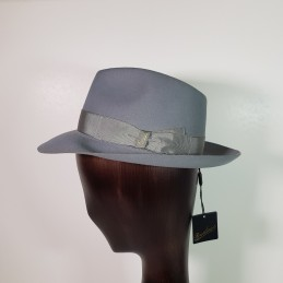 Borsalino in ice-colored...