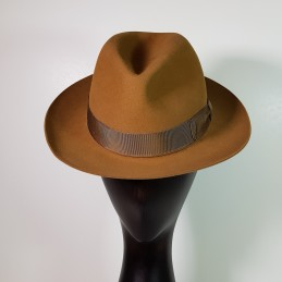 Borsalino in camel colored...
