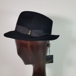 Borsalino in black felt