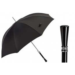 Pasotti luxury black umbrella