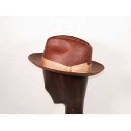 Borsalino brown panama...